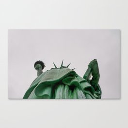 New York City: Statue of Liberty (Color) Canvas Print