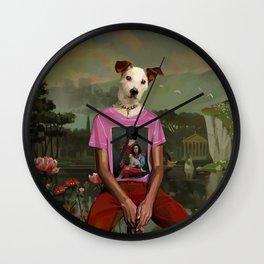 GucciDog Wall Clock