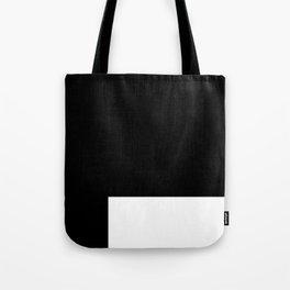 White Rectangle Tote Bag