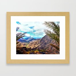 Gran Canaria, Canary Islands. Framed Art Print