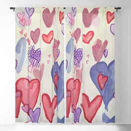 Heart Attack Blackout Curtain