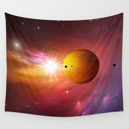 Star dust and interstellar gas. Wall Tapestry