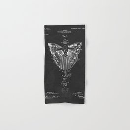 Vintage Theatrical Butterfly Wings Hand & Bath Towel