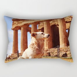 Majestic Dog for a Majestic View Rectangular Pillow