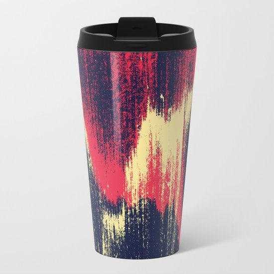 NOISE / part one Metal Travel Mug