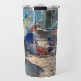Ocean Front PhotoArt Travel Mug