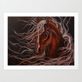Wild Horse Art Print