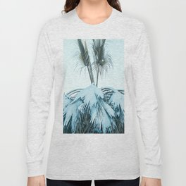 Palm and Snow Long Sleeve T-shirt