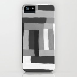 Painted Color Blocks iPhone Case