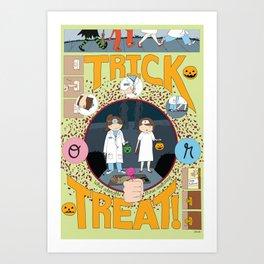 Trick or Treat (print) Art Print