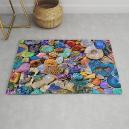 Rocks and Minerals, Geology Rug