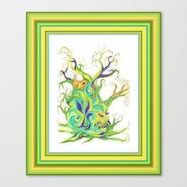 Living Sap - Tree Canvas Print