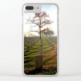 Arlington National Cemetery Clear iPhone Case