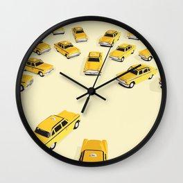22 cabs Wall Clock