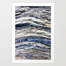 Nevada Rocks Art Print