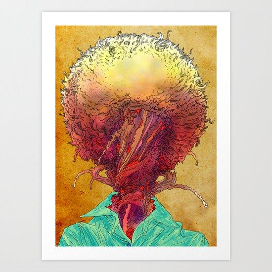 Armageddon. Art Print