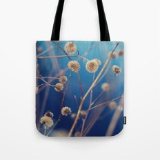 blue serenity Tote Bag