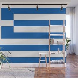 Greek flag Wall Mural