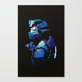 Dead Space: Splatter Isaac Canvas Print