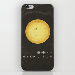 Planetary Arrangement iPhone Skin