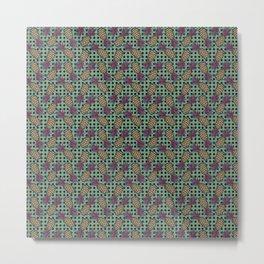 Polka Pineapples 04 Metal Print