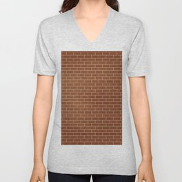 The wall - Solid Colors Unisex V-Neck