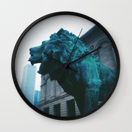The Art Institute of Chicago Wall Clock
