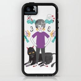 Angela Davis iPhone Case