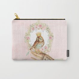 Owl on the hand Carry-All Pouch