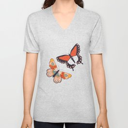 Butterflies collection 02 Unisex V-Neck