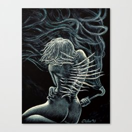"""Spinigerus -Twisted"" Canvas Print"