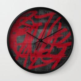 Haphazard. Wall Clock