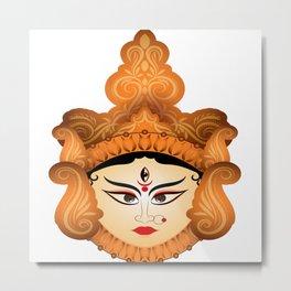Goddess Durga - Durga Maa Metal Print