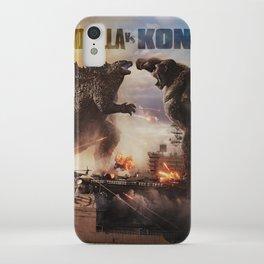 Godzilla vs Kong iPhone Case