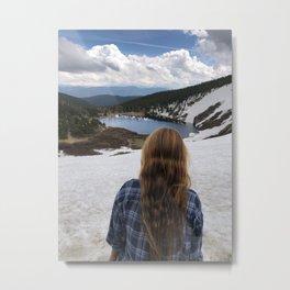 St Marys glacier Colorado Metal Print
