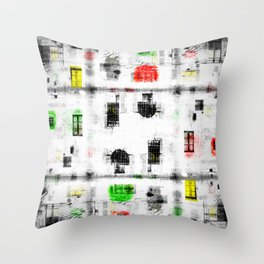 Annecy 7 Throw Pillow