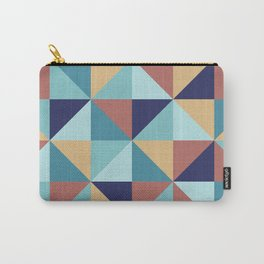 Abstract geometric pin wheal Carry-All Pouch
