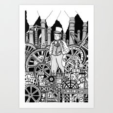 Industrialist Art Print