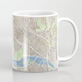 Richmond Virginia City Map Coffee Mug