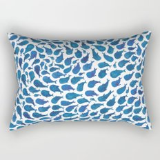 Blue Whales Rectangular Pillow