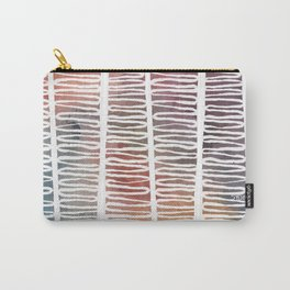 Winding Pillars Watercolor Print Carry-All Pouch