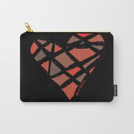 Shattered Heart Carry-All Pouch