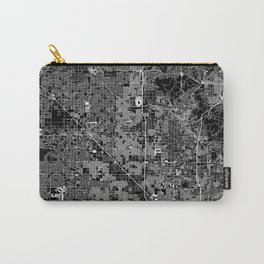 Phoenix Black Map Carry-All Pouch