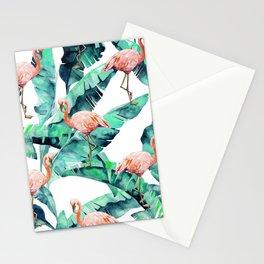 Tropical Flamingo Stationery Cards