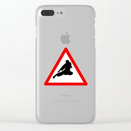 Street Fight Clear iPhone Case