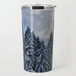 Frosty Trees Travel Mug
