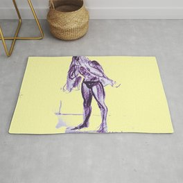 After A good Swim        by Kay Lipton 2020 Rug