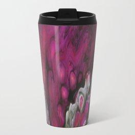 Purple Peacock Travel Mug