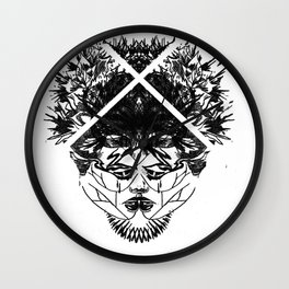 half a head half a mind. Wall Clock