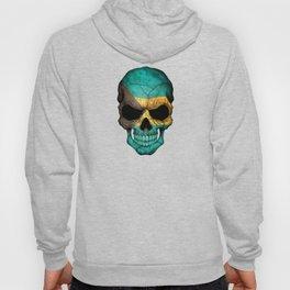 Dark Skull with Flag of Bahamas Hoody